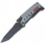 Нож для выживания 3-в-1 (нож, фонарь, огниво)