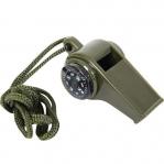 Свисток 3-в-1 (свисток, компас, термометр)